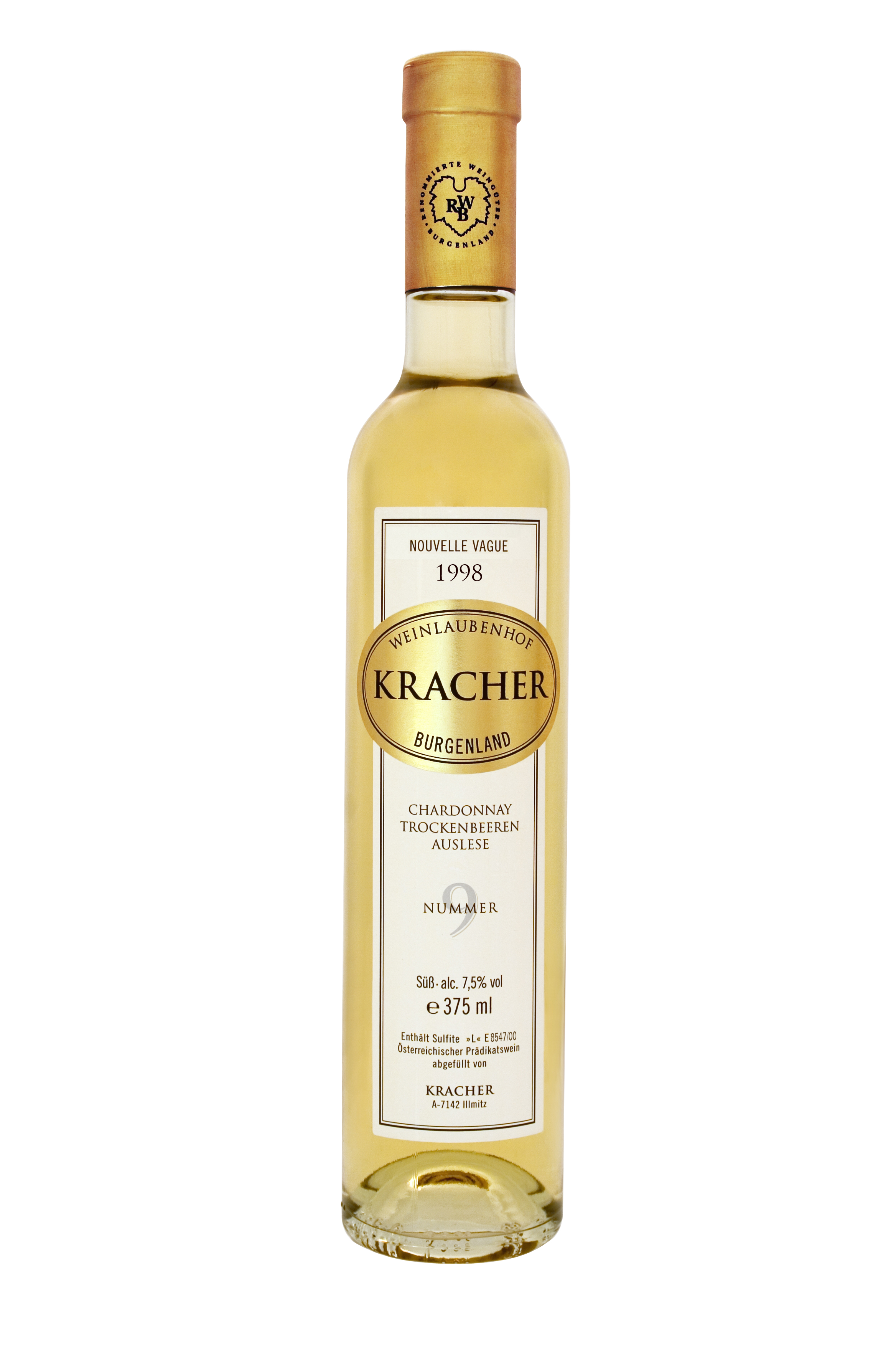 1998 TBA No. 9 Chardonnay